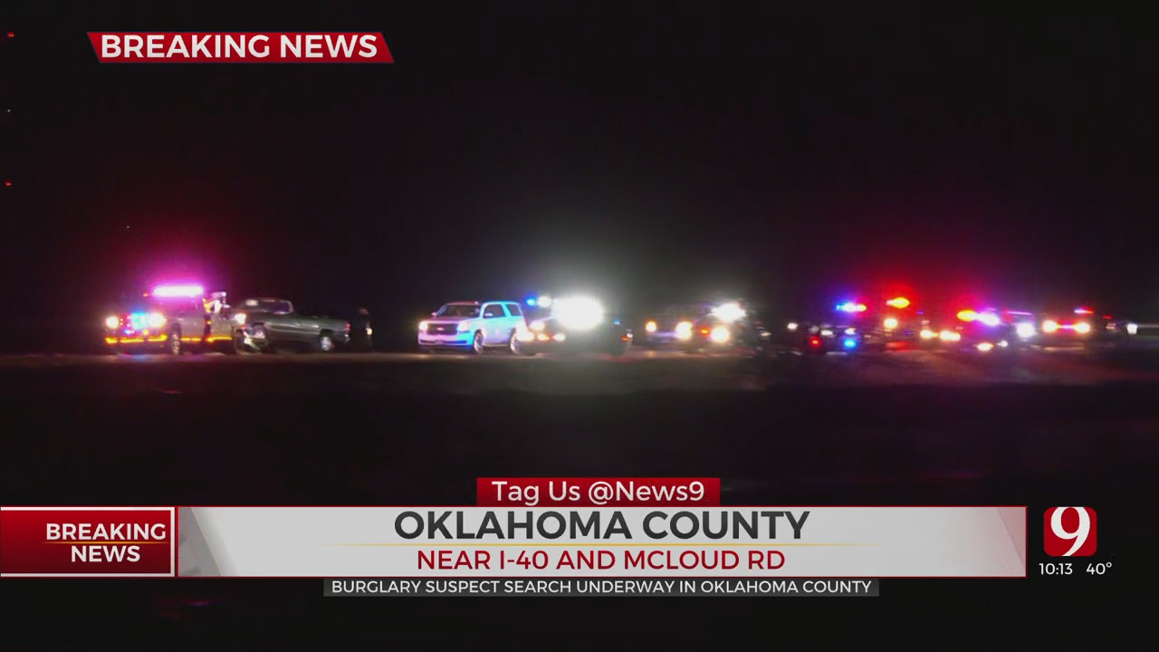 Oklahoma County Sheriff Vehicle Crashes Amidst Suspect Pursuit