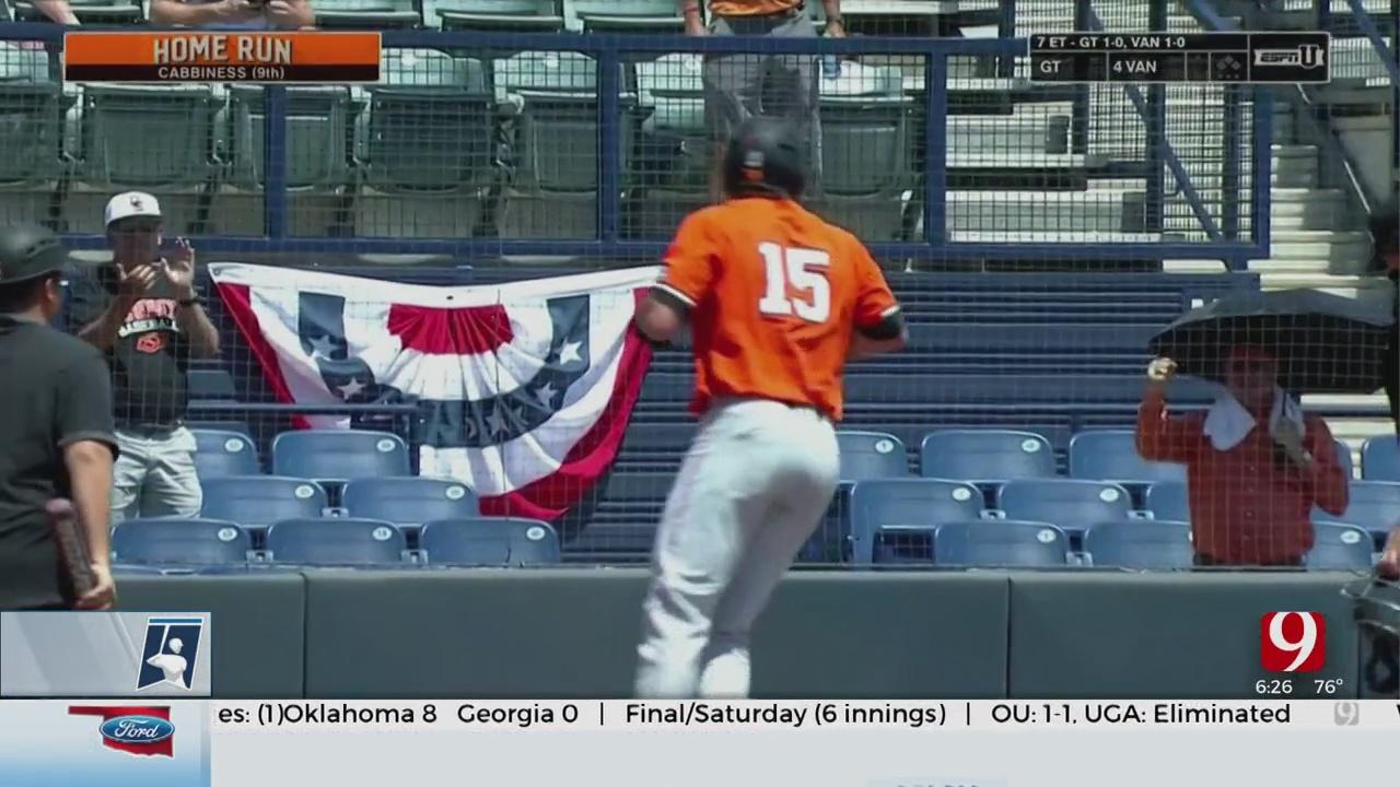 OSU Eliminates Grand Canyon From NCAA Baseball Tournament
