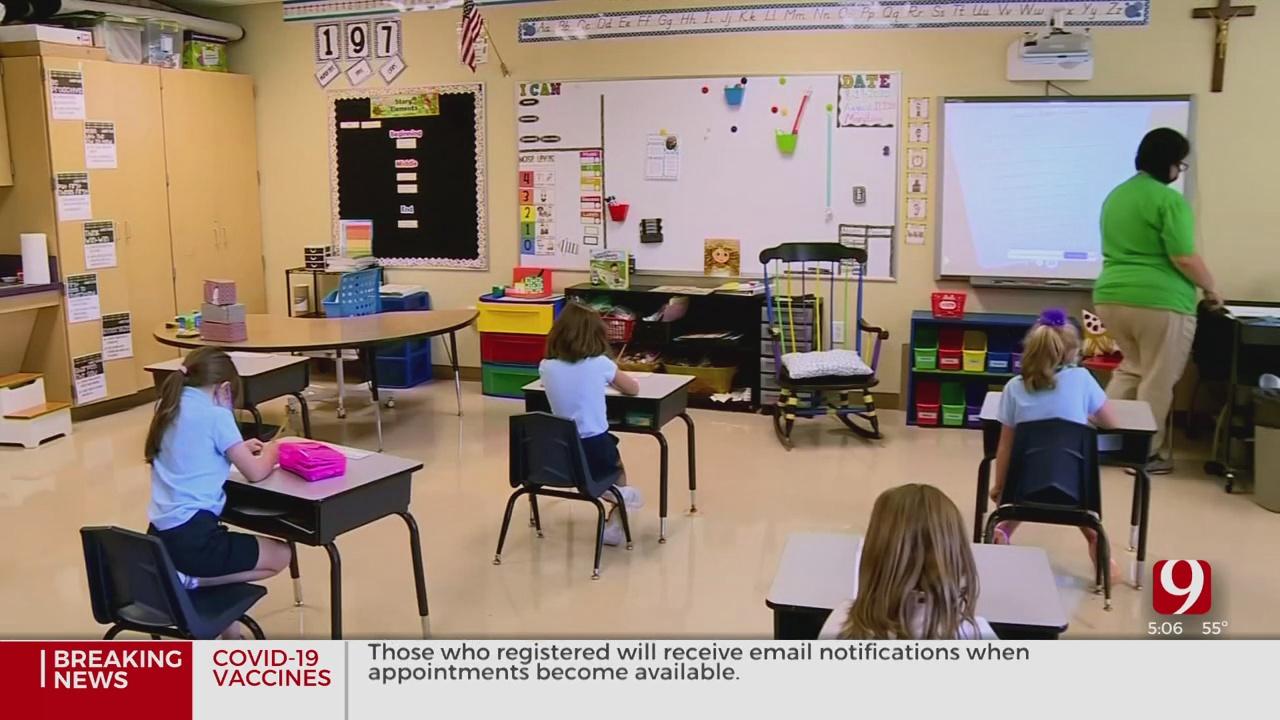 School Districts React To Gov. Stitt's New School COVID-19 Quarantine Policies