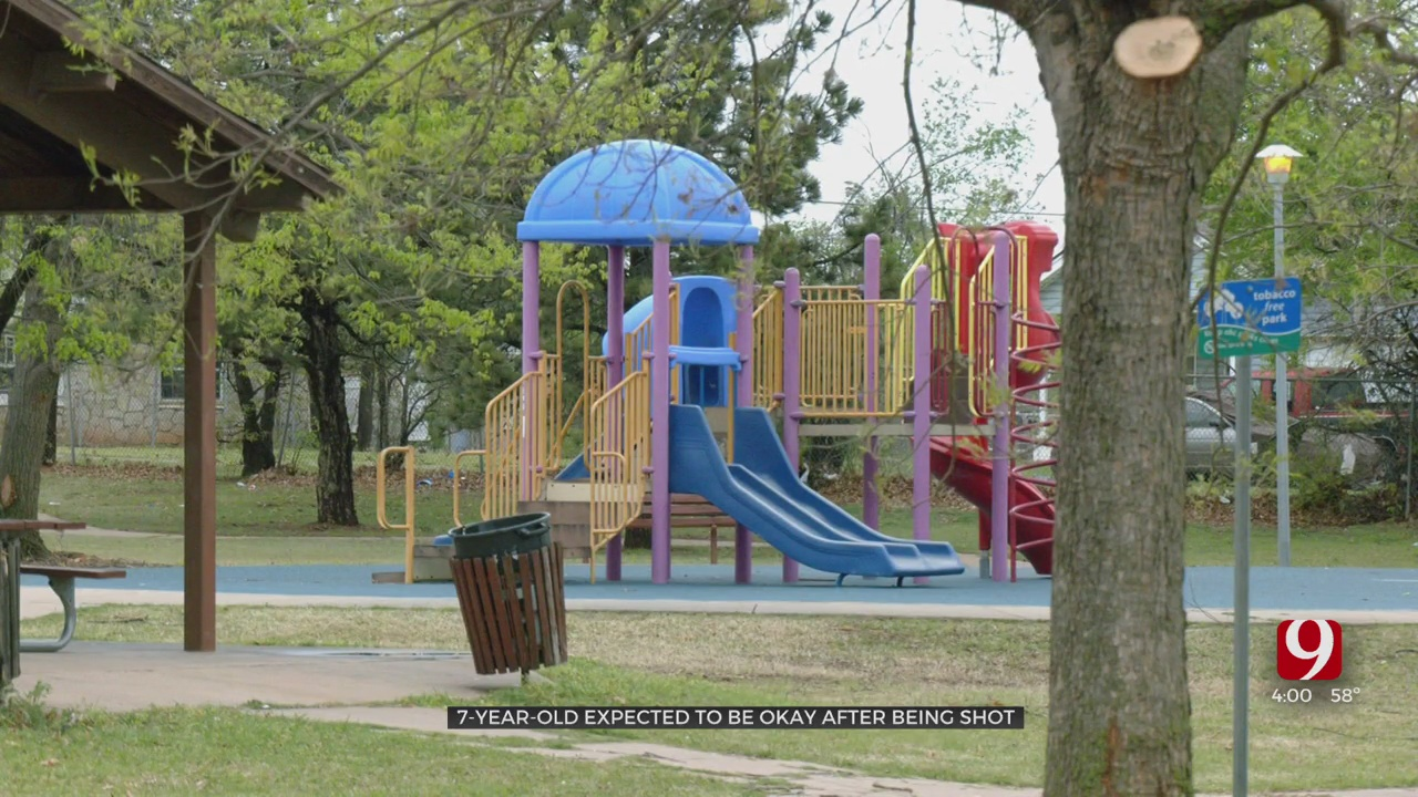 7-Year-Old Boy Recovering After He Suffered A Gunshot Wound At A NE OKC Park