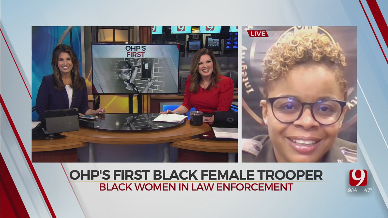Black History Month: OHP's First Black Female Trooper