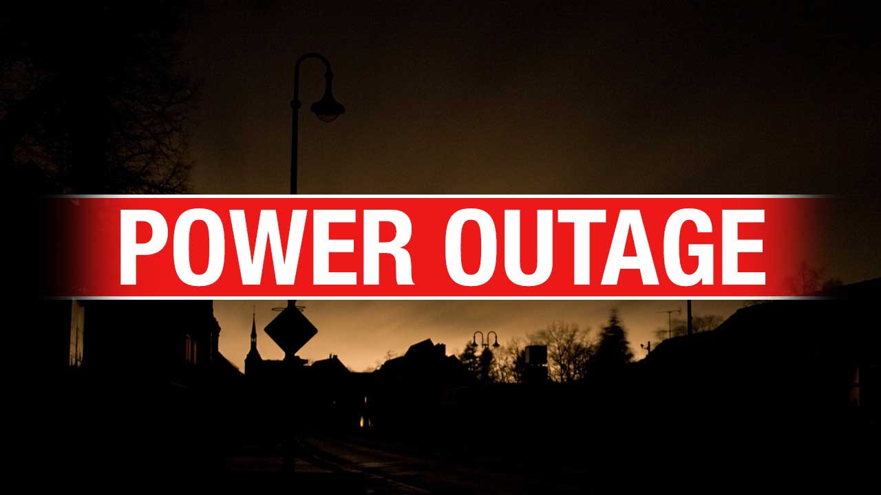 Over 17,000 Without Power Because Of High Winds