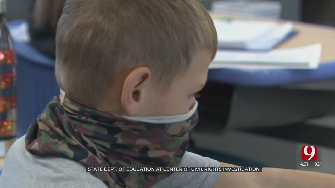US Dept. Of Education Investigates Oklahoma After State Law Restricting Universal Masking At Schools
