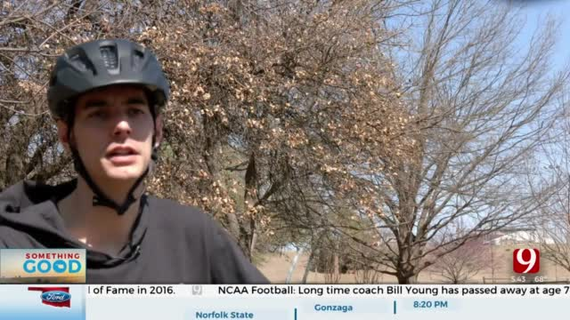 Edmond Man Says Faith Helped Find Stolen Bike After 8 Months