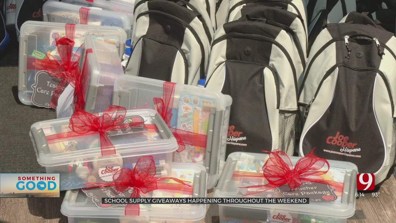 School Supplies, Backpack Giveaway Events Happening This Weekend
