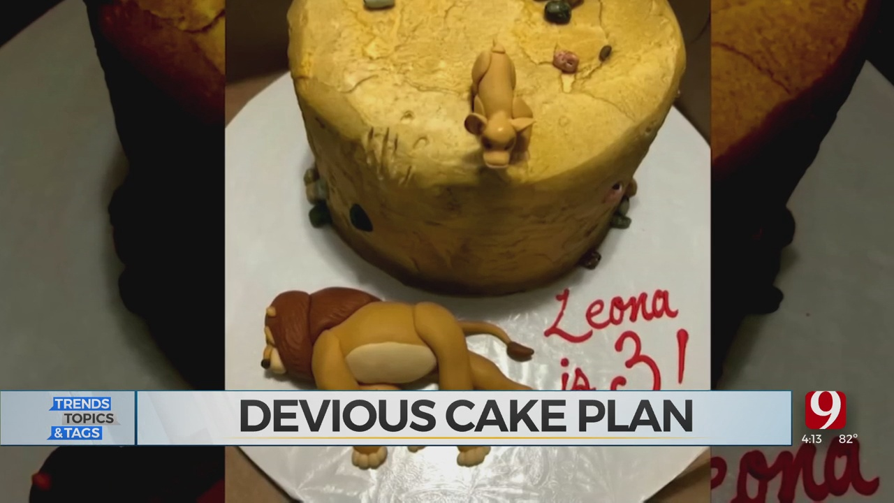 Trends, Topics & Tags: Girl Makes A Lion King Cake