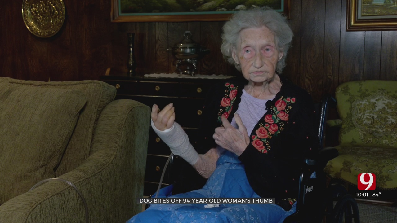 Shawnee Woman, 94, Loses Thumb After Bite From Neighbor's Dog
