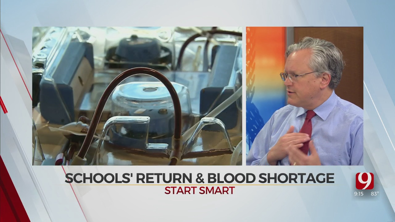 WATCH: OBI On Could School Blood Drives Return With Back To School