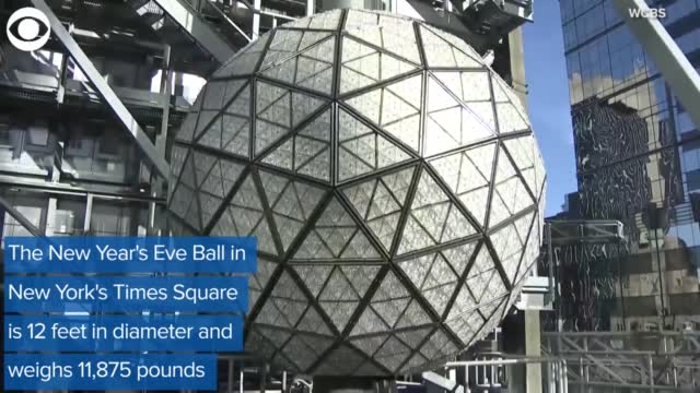 WATCH: New Year's Eve Ball Arrives In New York's Time Square