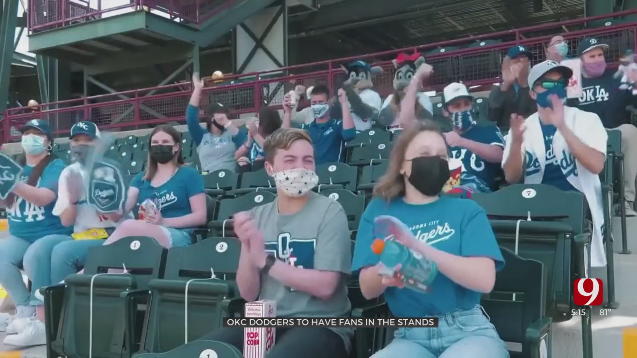 OKC Dodgers To Allow Fans Back Into The Stands