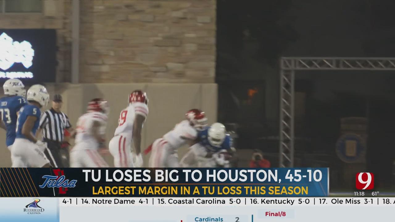 TU Football Breakdown: Golden Hurricane Fall To Houston