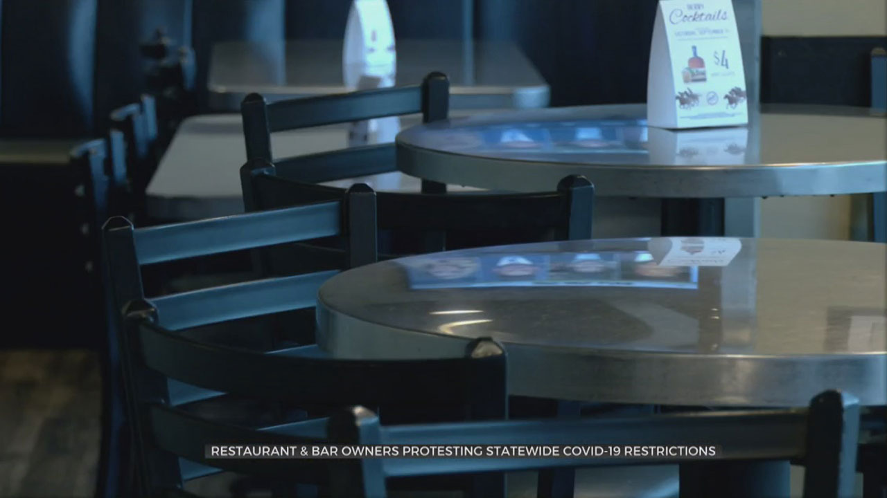 Restaurant, Bar Owners To Protest Statewide COVID-19 Restrictions