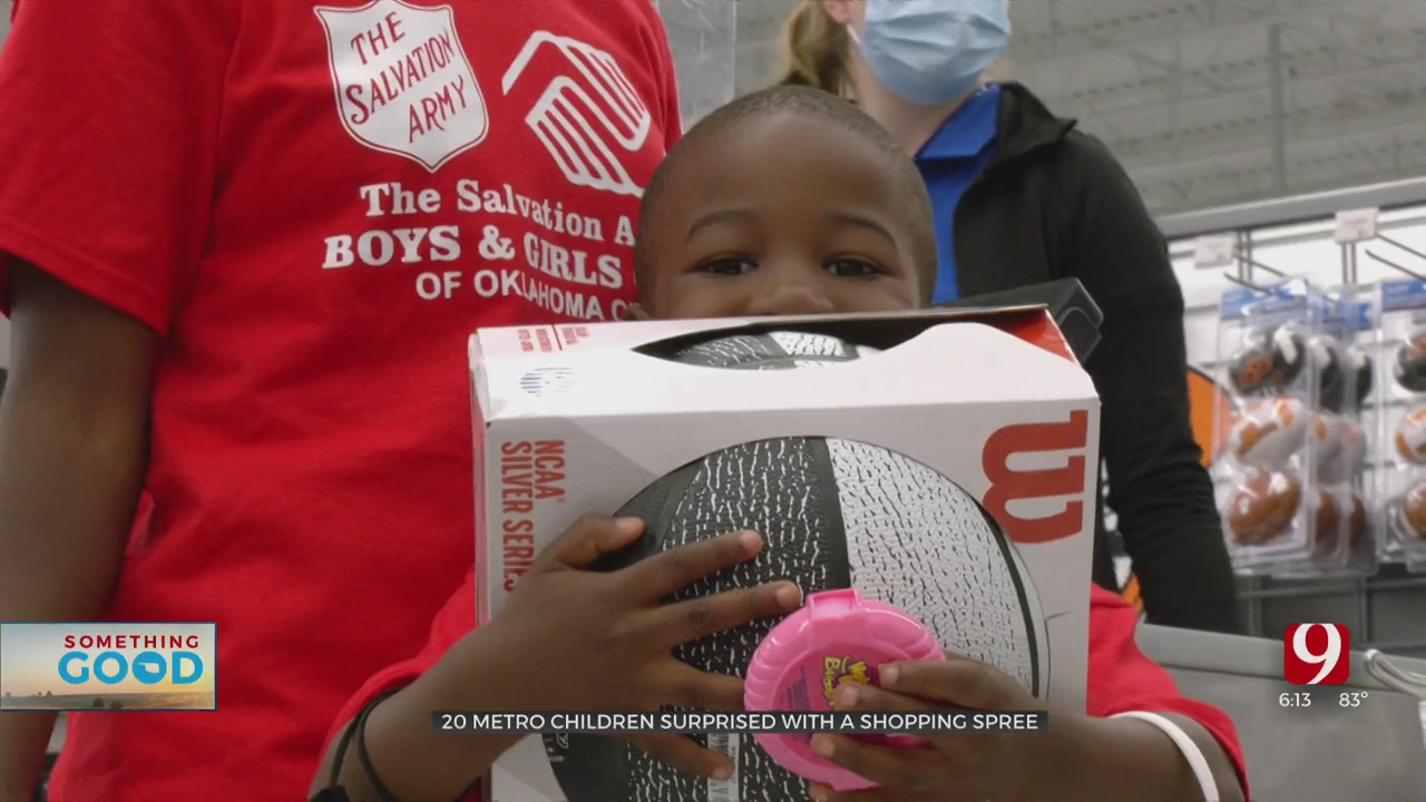 Metro Children Surprised With Shopping Spree