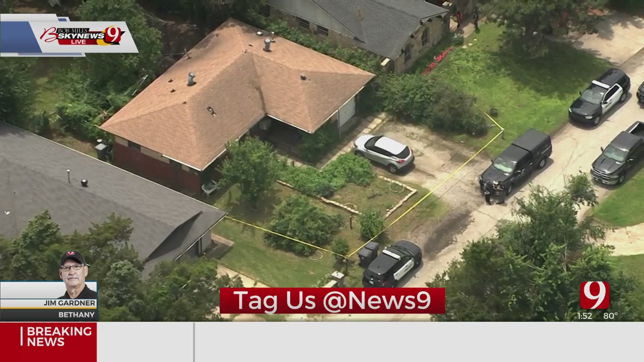 Police Investigate After Body Found In Bethany