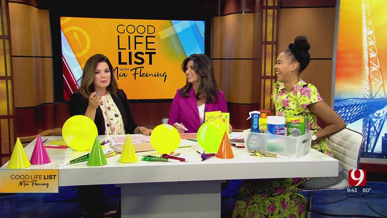 Good Life List: Making Birthday Cards