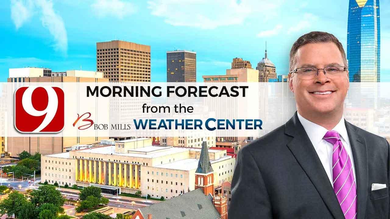 Jed's 9 a.m. Thursday Forecast