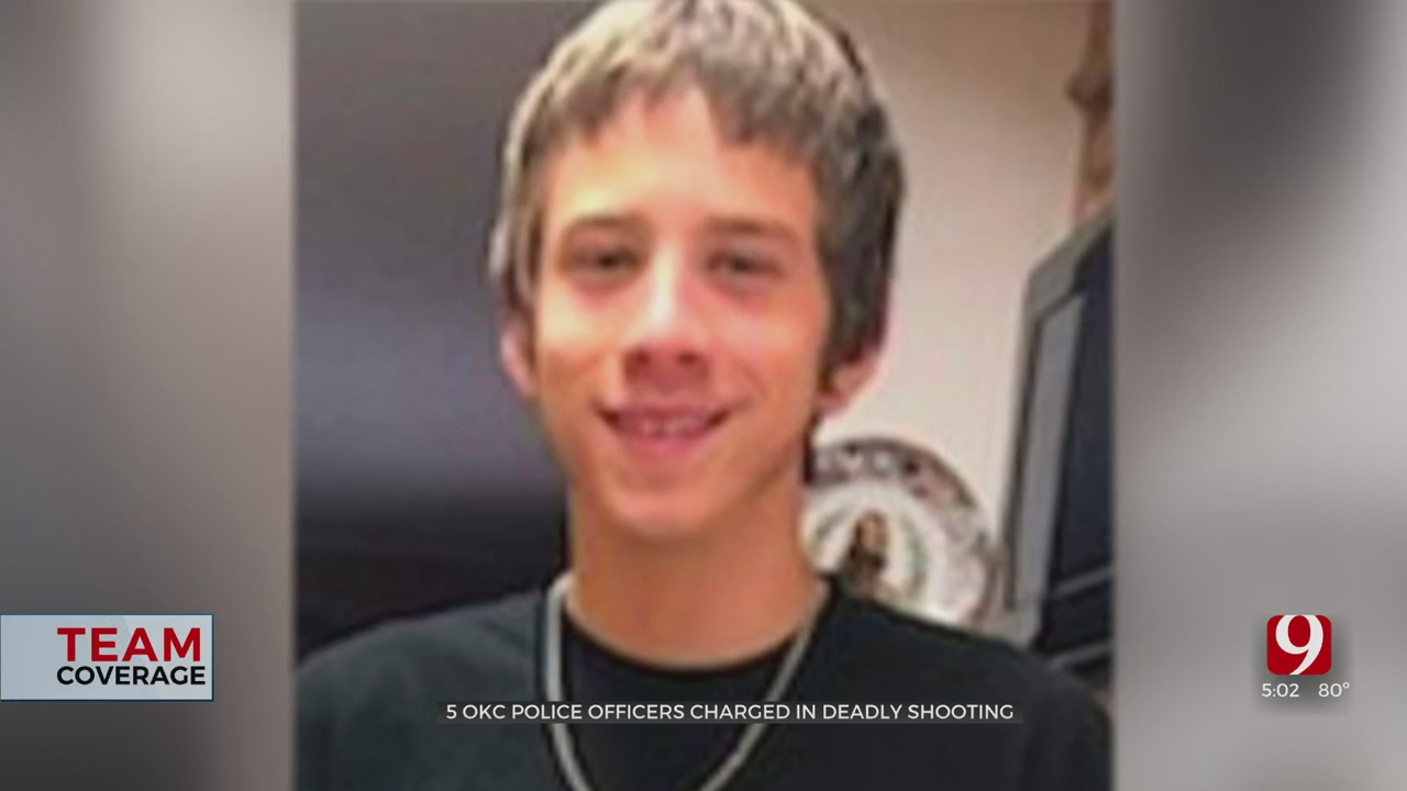 Okla. Co. DA Charges 5 OKC Police Officers In Connection With Shooting Death Of 15-Year-Old