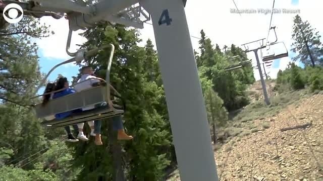 California School District Holds Ski Lift Graduation