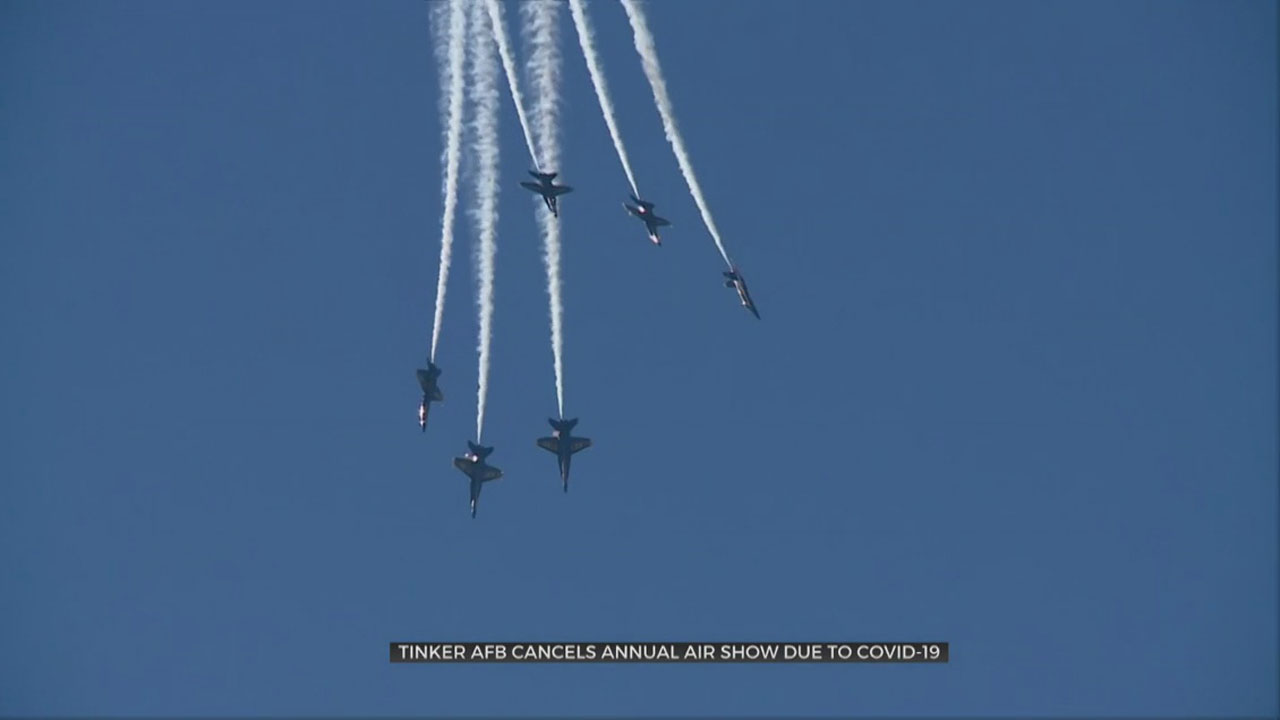 Tinker Air Force Base Cancels Annual Air Show Due To COVID-19