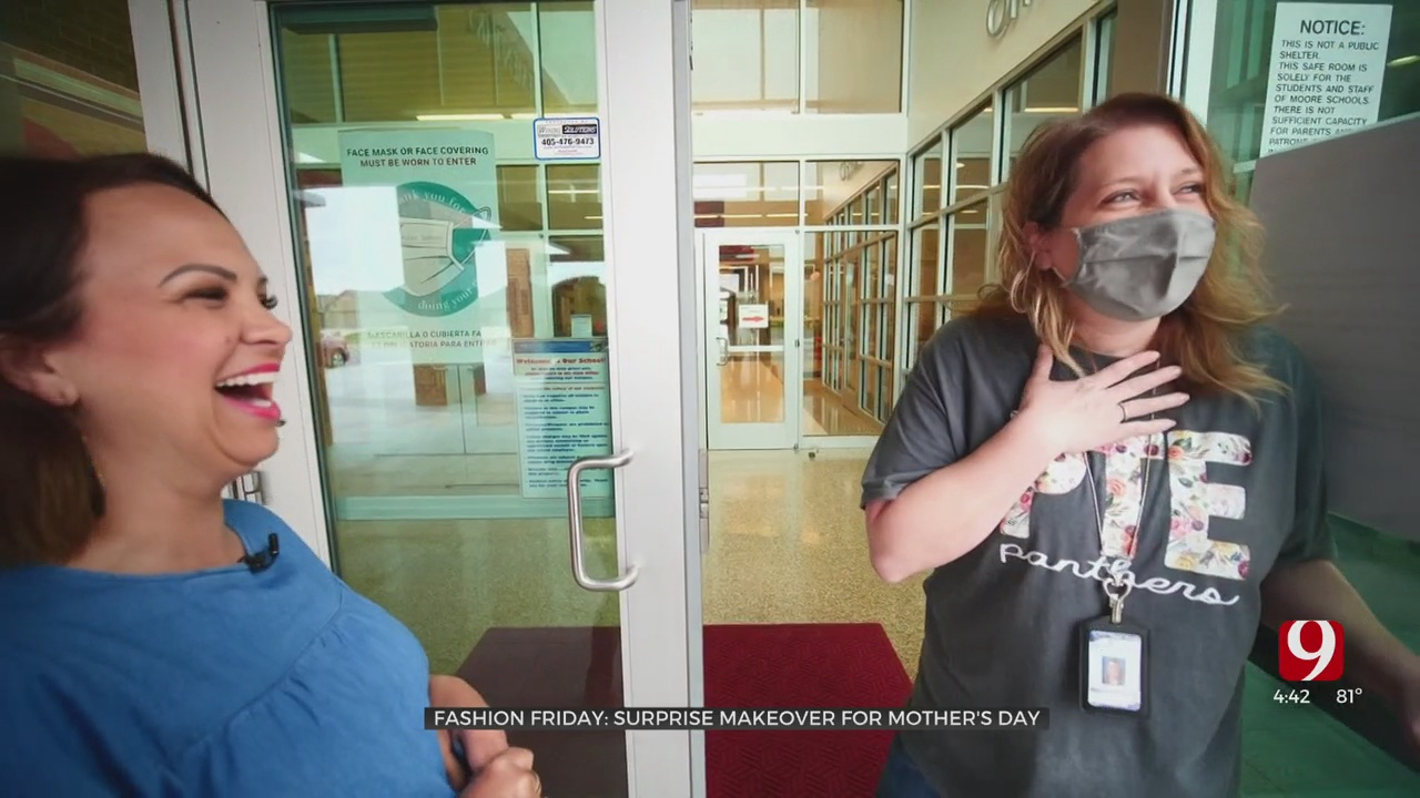 Fashion Friday: Surprise Makeover For Mother's Day