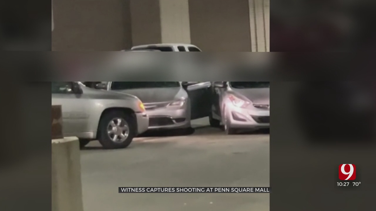 Witness Captures Video Of Parking Garage Shooting At Penn Square Mall