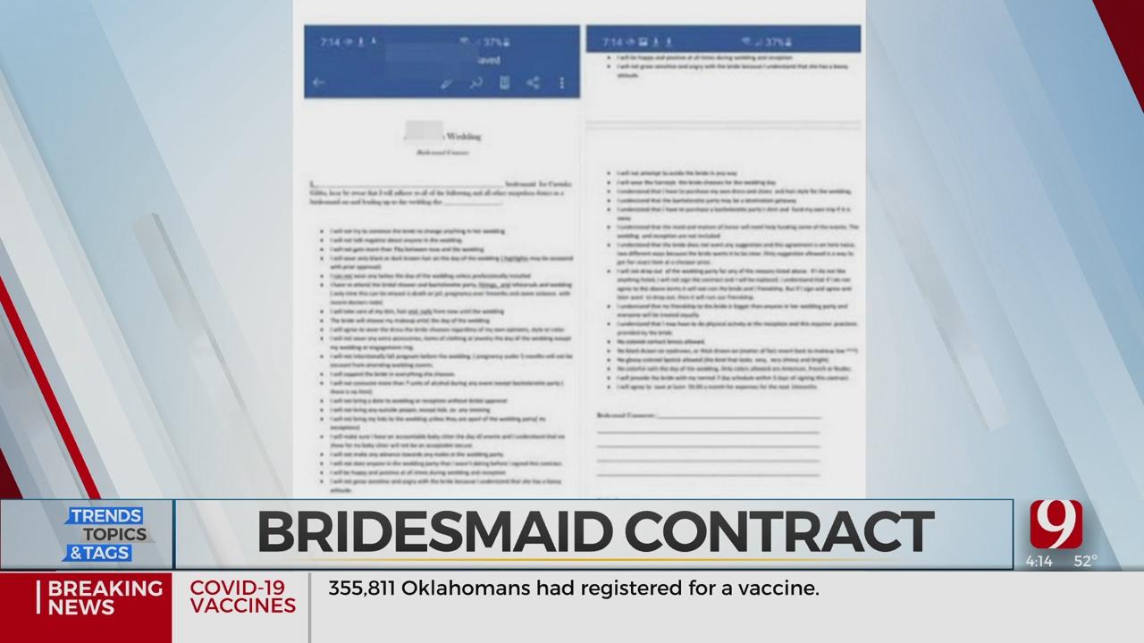 Trends, Topics & Tags: 'Bridezilla' Contract