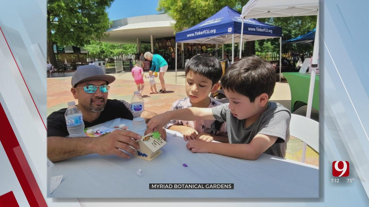 Watch: Final Weekend Of Myriad Gardens' Children's Festival