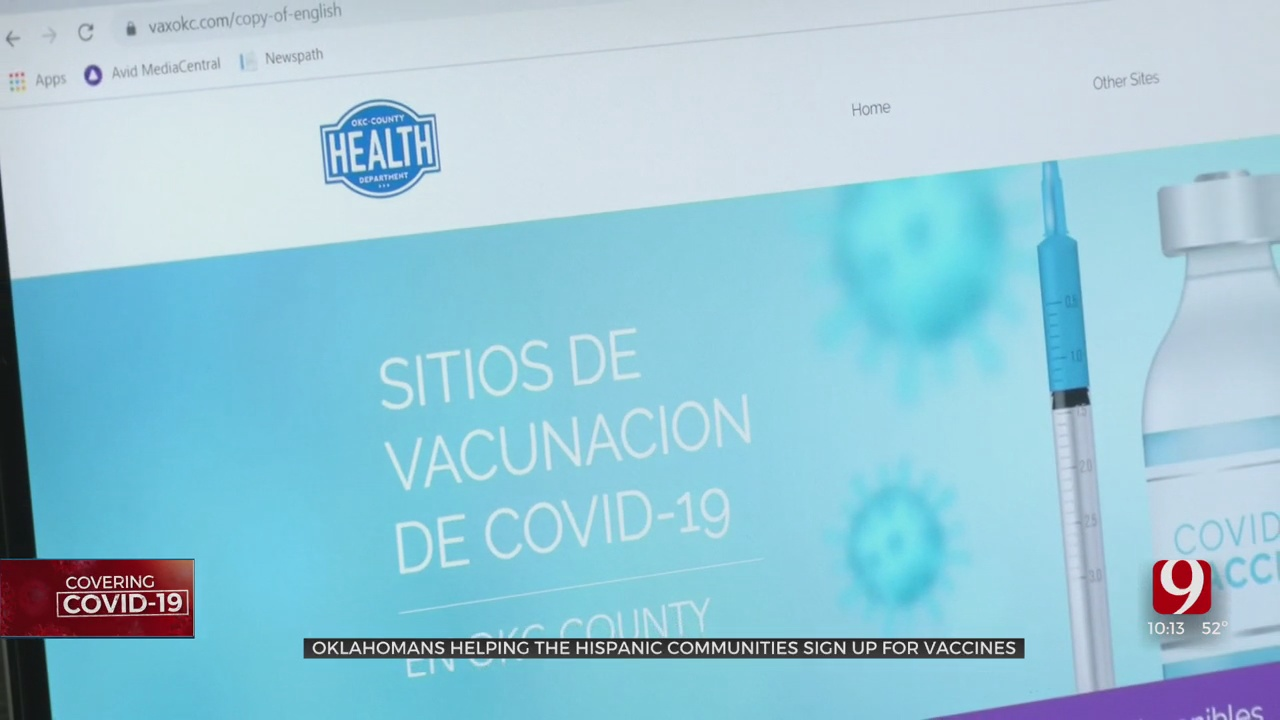 Bilingual Agencies Helping Hispanic Oklahomans Sign Up For COVID-19 Vaccines