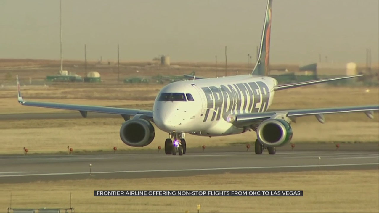 Frontier Airlines To Add Nonstop Flights From OKC To Las Vegas