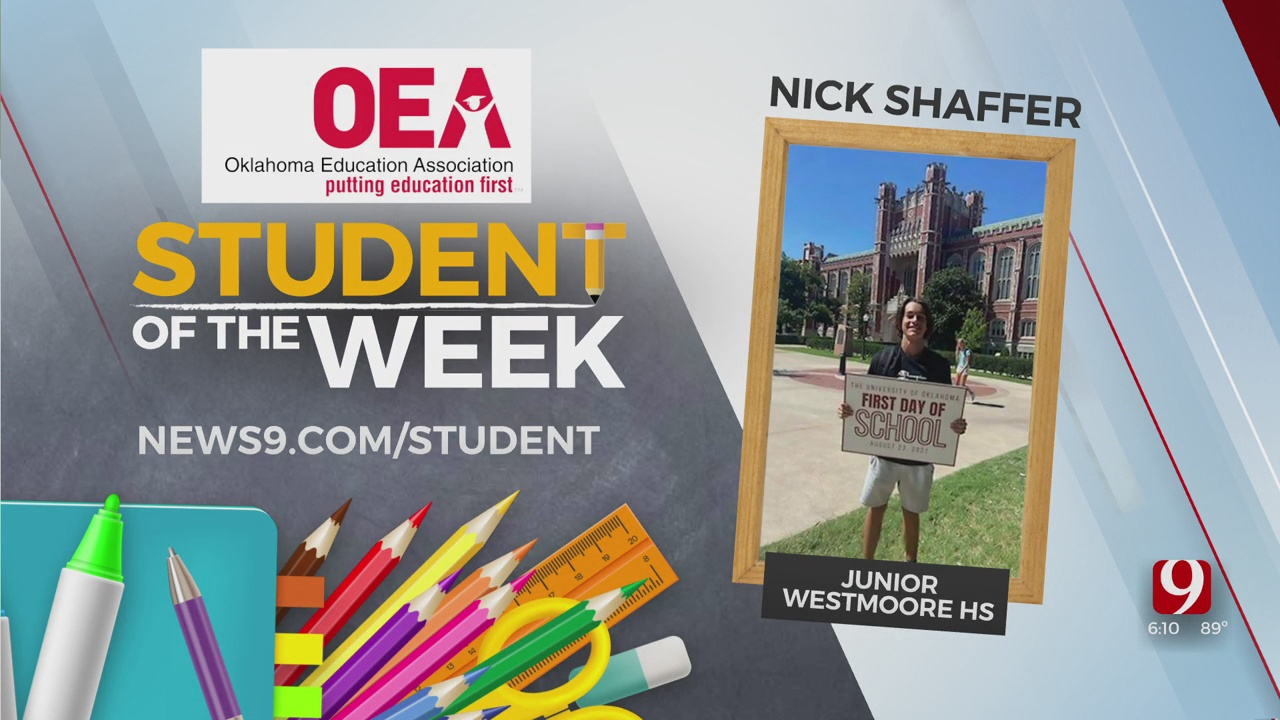 Student Of The Week: Nick Shaffer