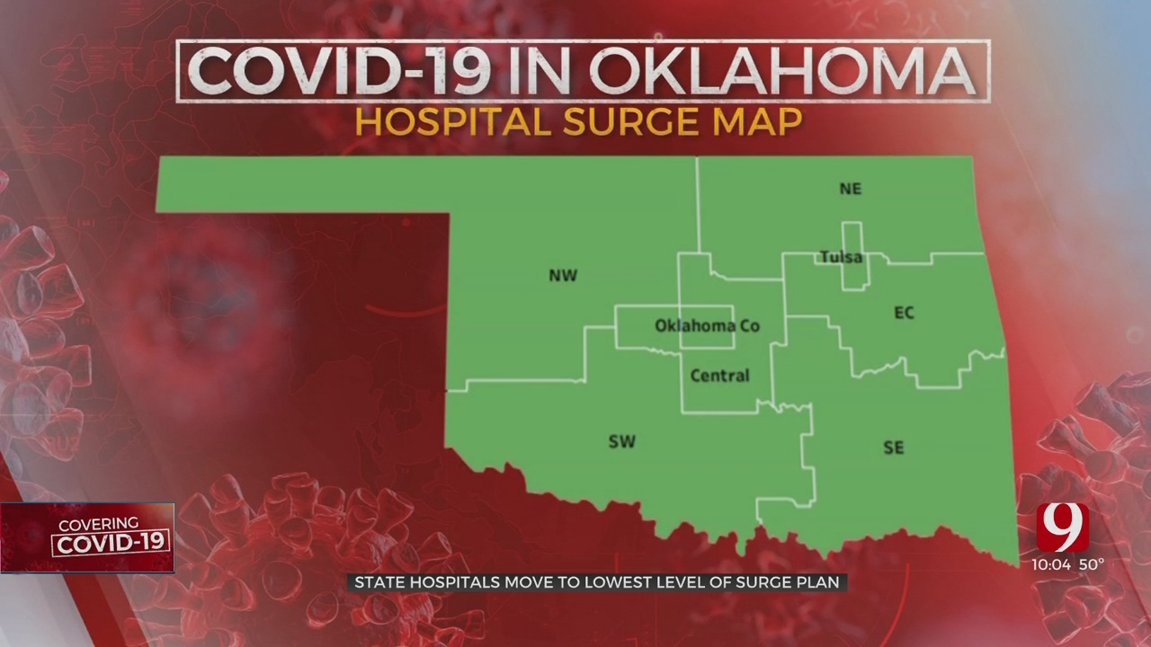 Oklahoma City Hospital Eases Restrictions As COVID-19 Cases Drop, Rolls Back Capacity Changes