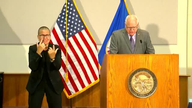 Minnesota Governor Tim Walz Signs 'Long Overdue' Police Accountability Bill