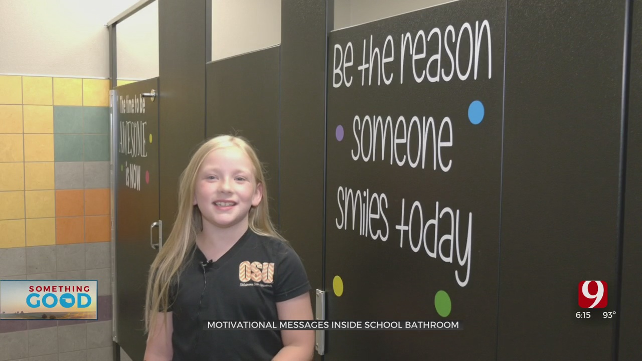 Something Good: Positive Messages Left Inside Restrooms At Perkins School To Welcome Students Back
