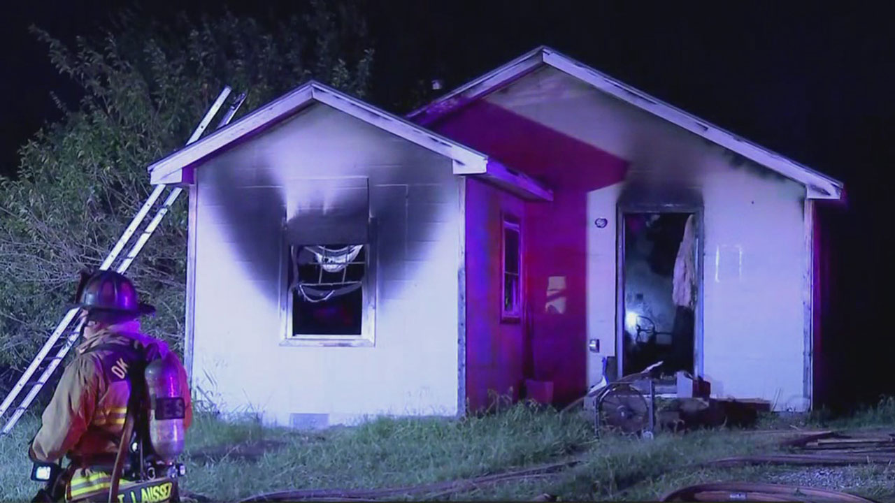 NE OKC Home Destroyed In Fire, Set To Be Demolished