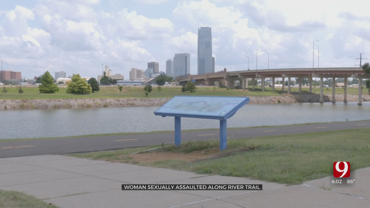 Suspect With Gun Allegedly Assaults Woman Walking Along The Oklahoma River Trails, Police Say