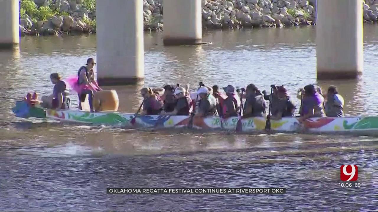 Oklahoma Regatta Festival Continues At Riversport OKC
