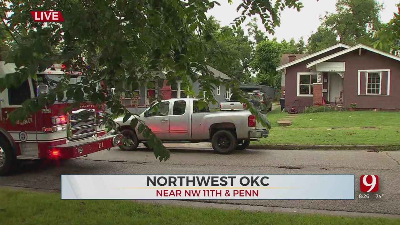 1 Person Treated After House Fire In NW OKC