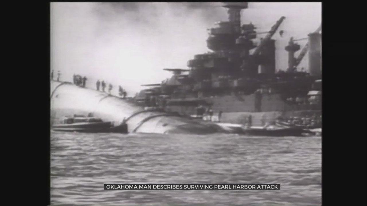 Okla. Man Describes Surviving Pearl Harbor Attack