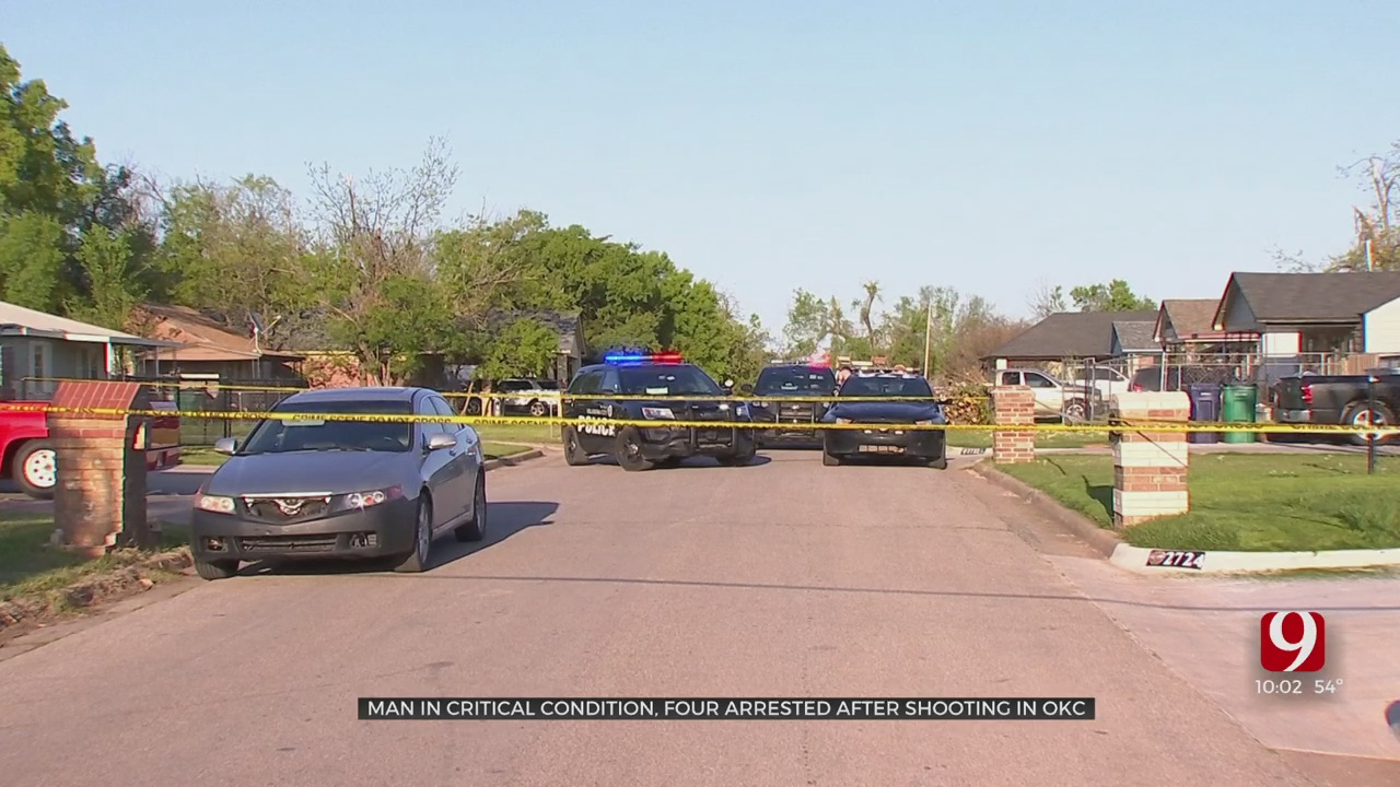 Man Hospitalized In Critical Condition After Drive-By Shooting