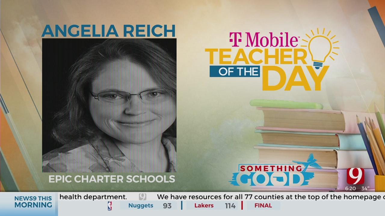 Teacher Of The Day: Angelia Reich