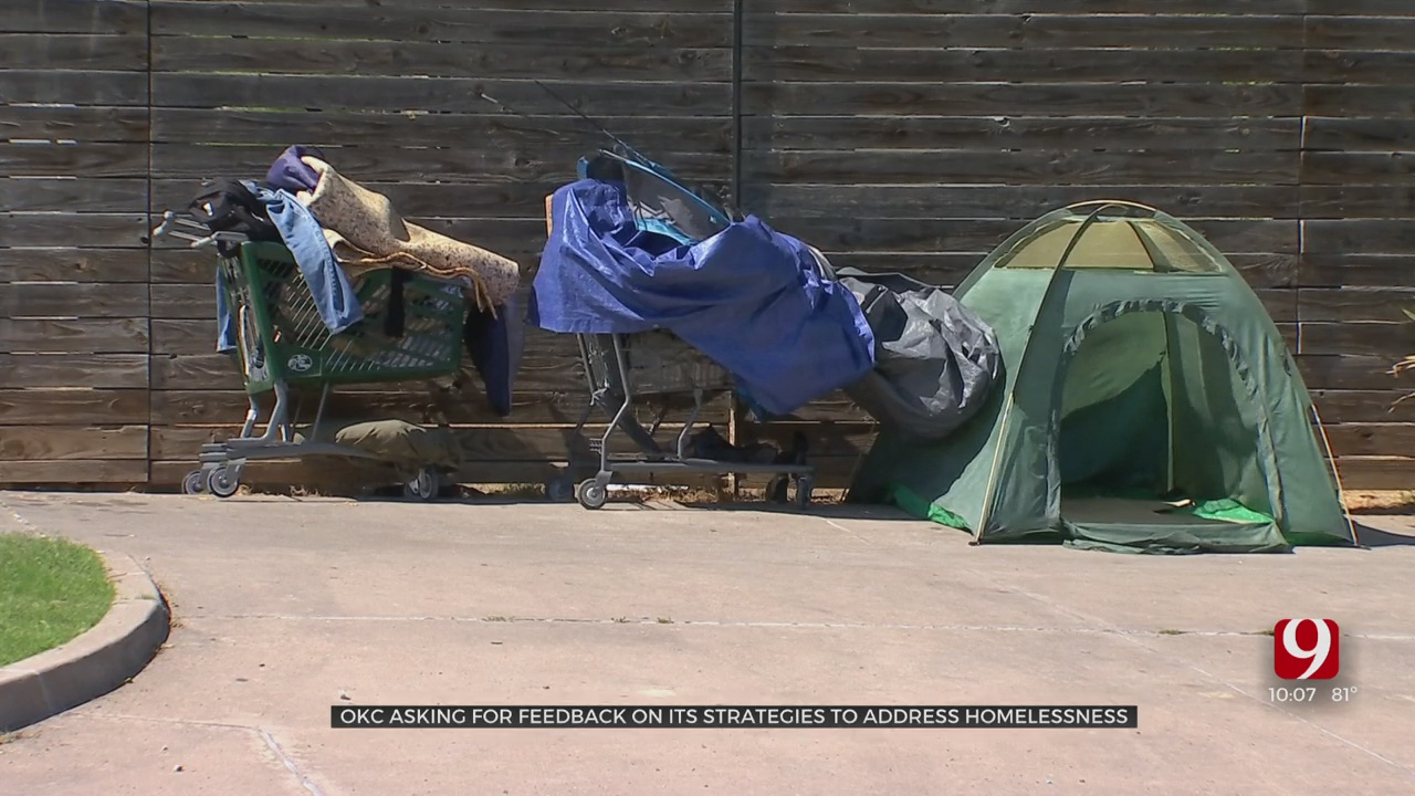 City Drafts Plan To Address Homelessness, Asks For Public Input