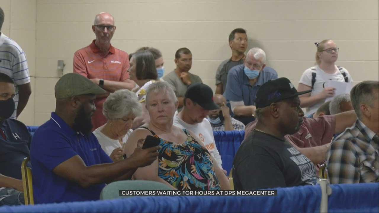 DPS Warns Oklahomans To Expect Long Waiting Times At OKC Megacenter