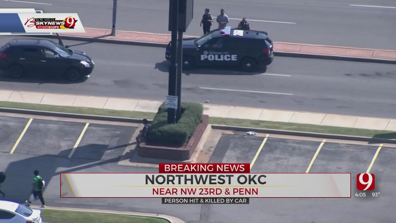 1 Killed In Auto-Pedestrian Accident In NW OKC
