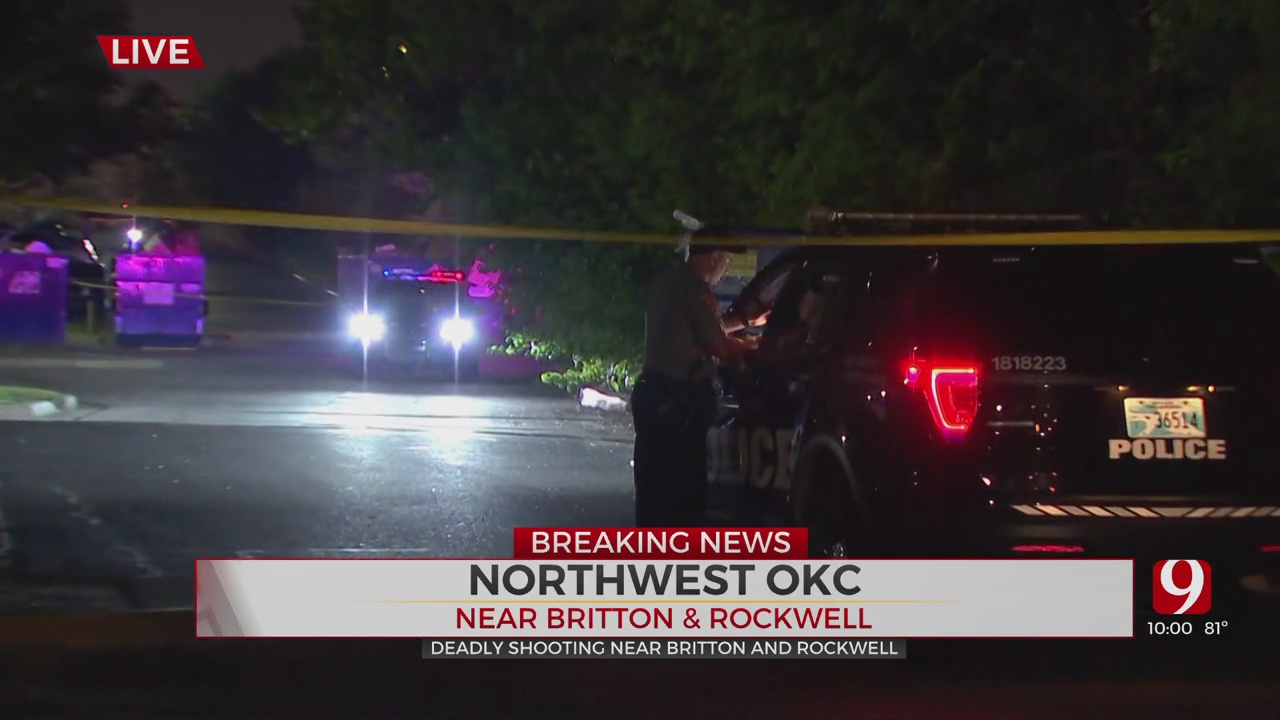 1 Killed, 1 In Custody After Shooting In NW OKC