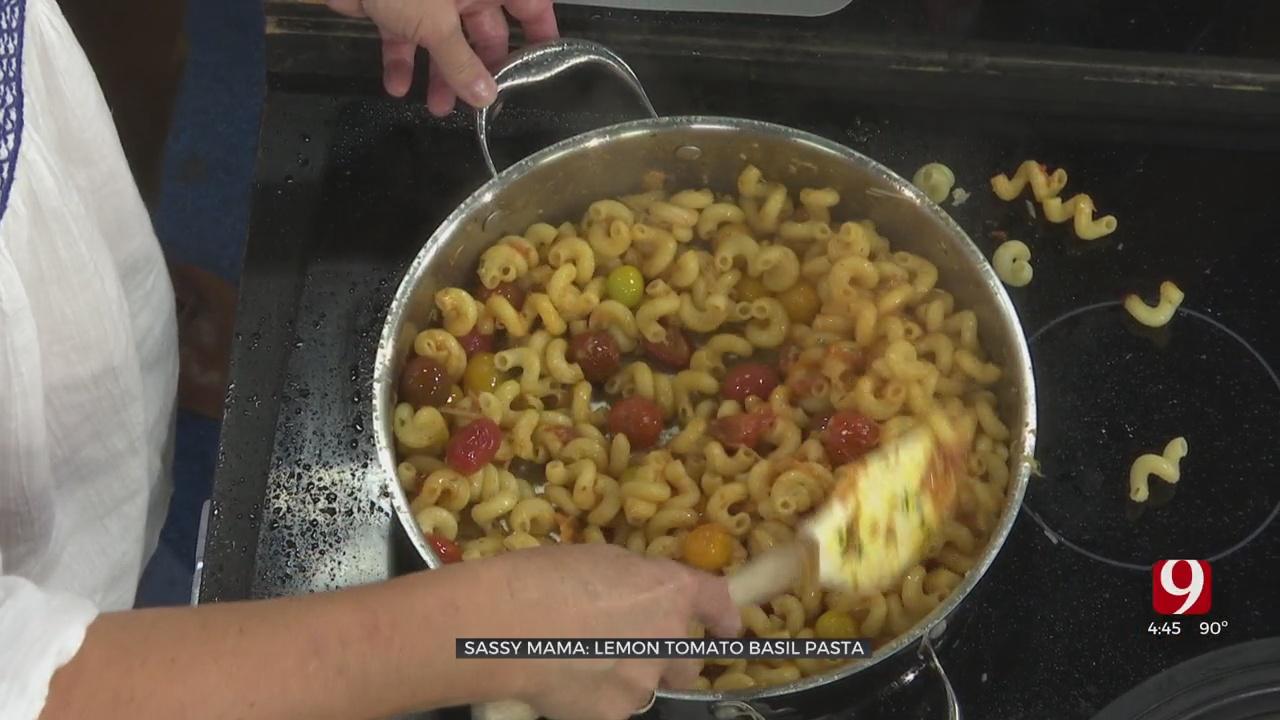 Lemon Tomato Basil Pasta