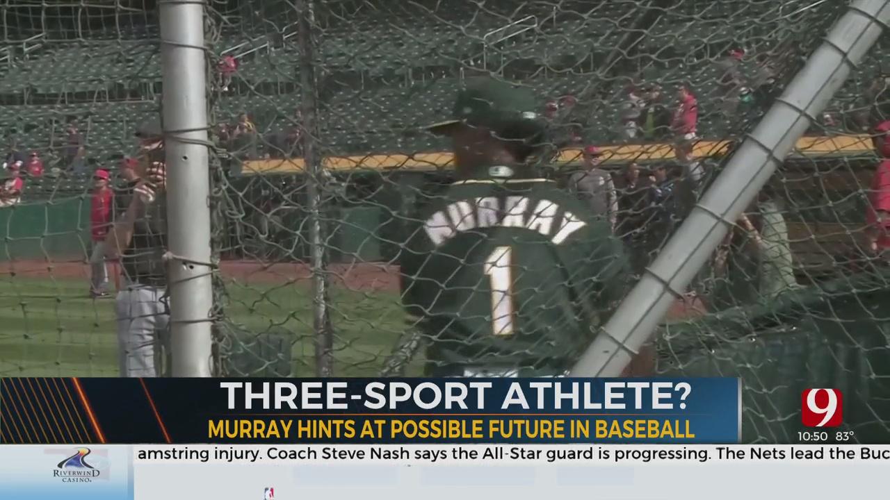 Kyler Murray Hints At Possible Future In Baseball
