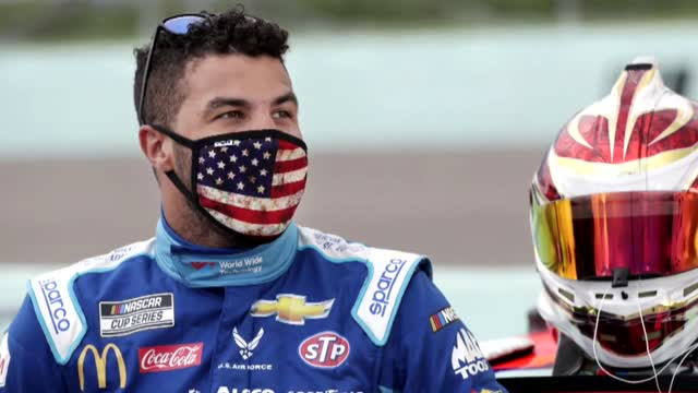NASCAR's Bubba Wallace Hits Back After President Trump Calls Noose A 'HOAX'