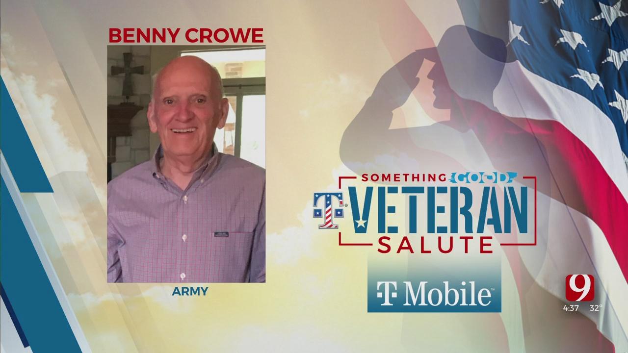 Veteran Salute: Benny Crowe