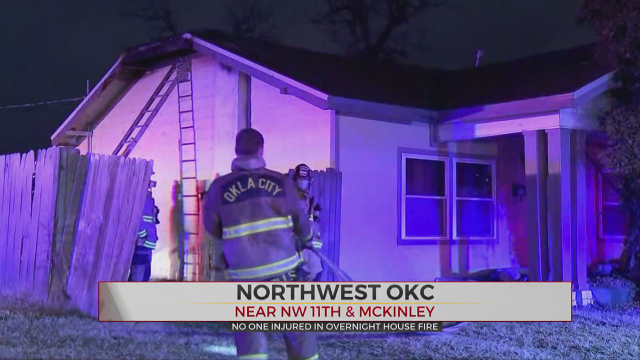 Overnight Fire Causes $5,000 In Damage To NW OKC Home