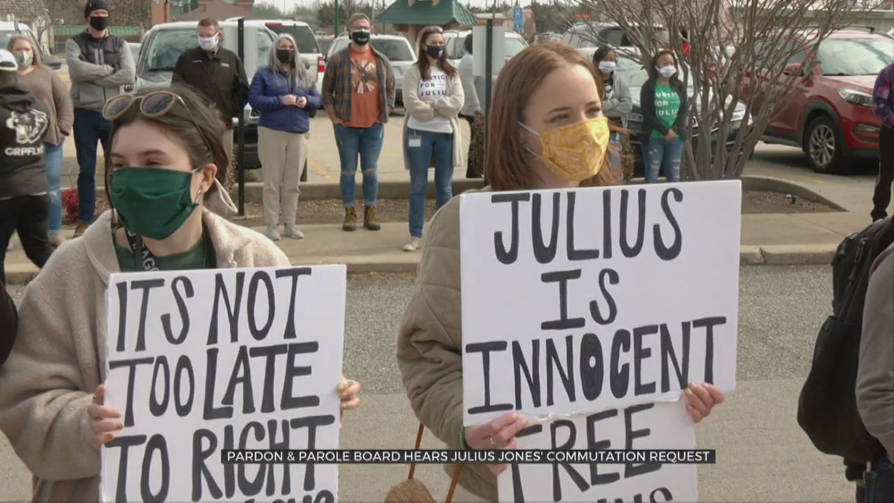Pardon And Parole Board To Consider Julius Jones Commutation Application